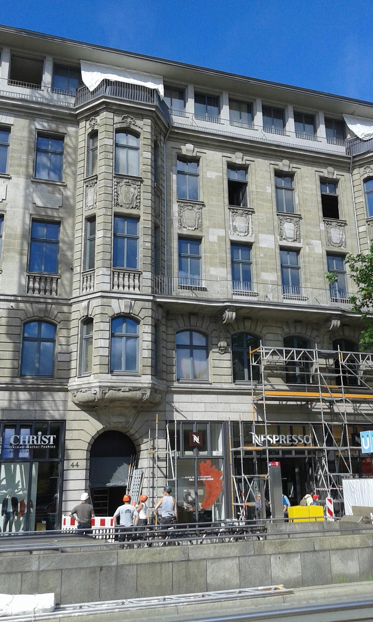 Przebudowa budynku firmy ubezpieczeniowej HDI w Hanowerze, Georgstrasse (Niemcy)