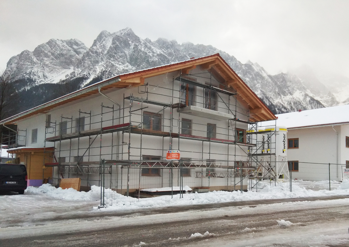 Budowa 5 budynków mieszkalnych w Grainau (Niemcy)