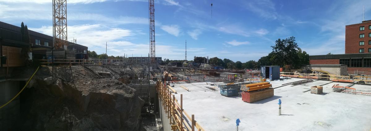 Montaż zbrojenia, prace szalunkowe i betonowe w miejscowości Karlskrona (Szwecja)