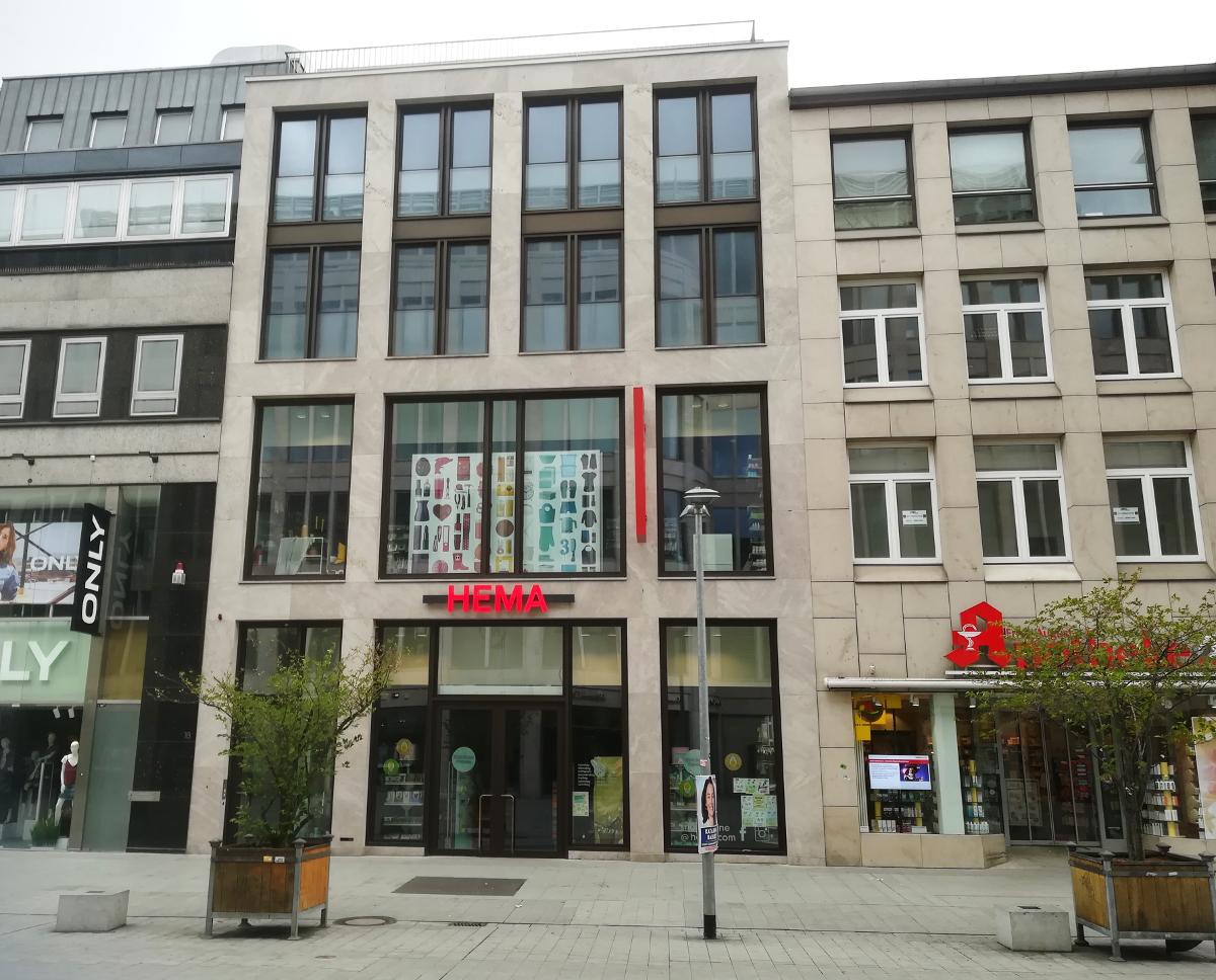 Budowa biura handlowego w Hanowerze, Karmarschstr. (Niemcy)