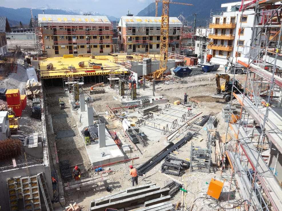 Budowa budynku wielorodzinnego w Garmisch-Partenkirchen, Lagerhausstr. (Niemcy)