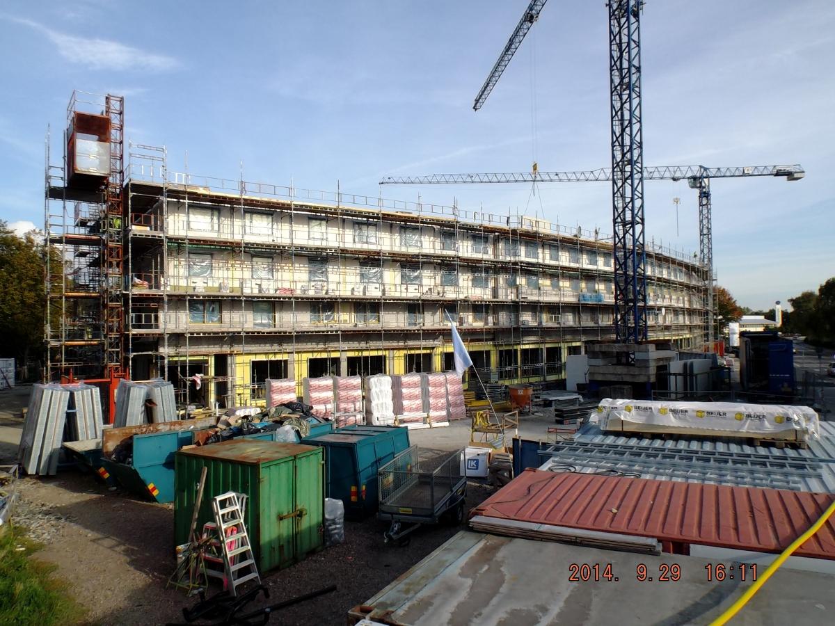 Prace rozbiórkowe i betonowe, wykonanie ścianek wewnętrznych i instalacyjnych w Lund, Rabyvägen 31 (Szwecja)