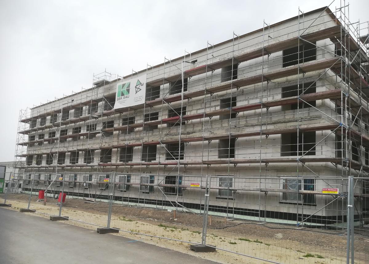 Budowa akademika w Garbsen, Walter-Koch-Str. (Niemcy)